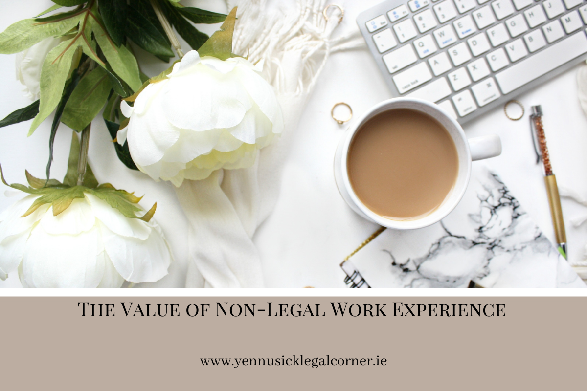 The Value of Non-Legal Work Experience