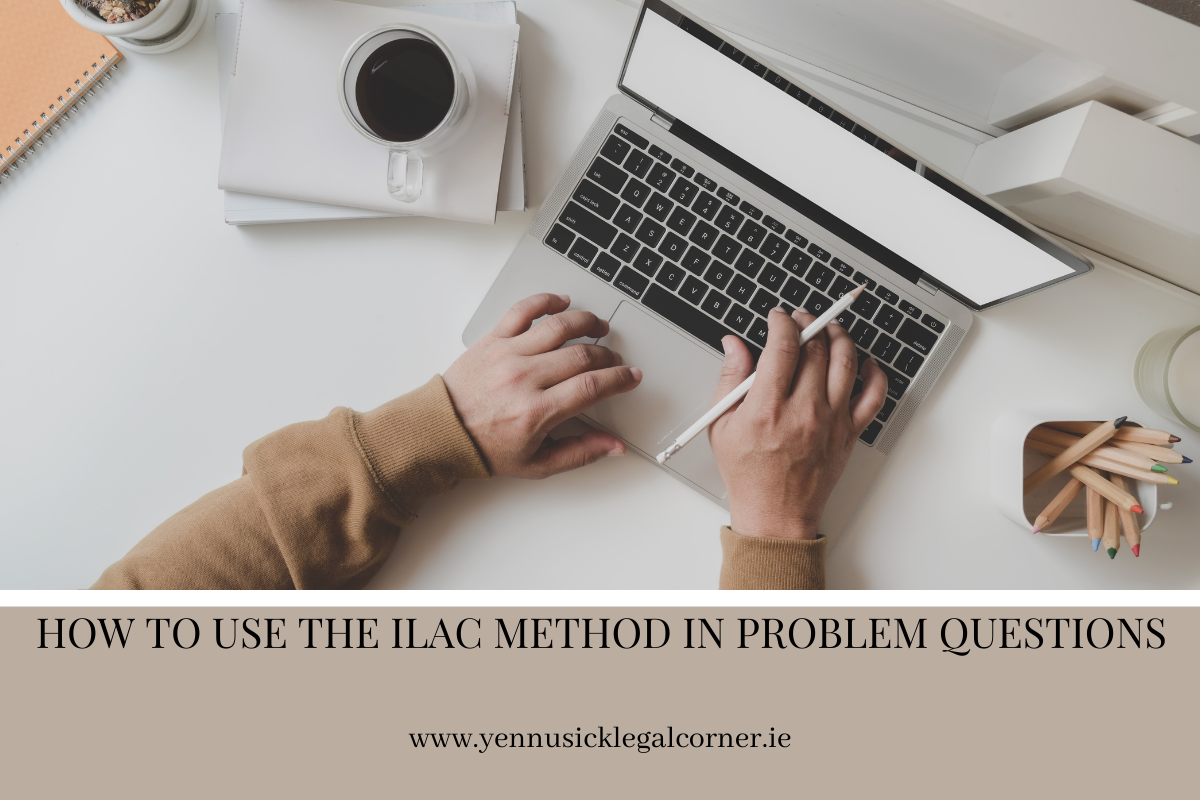 HOW TO USE THE ILAC METHOD IN PROBLEM QUESTIONS